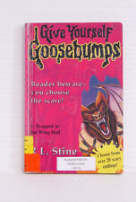 Give Yourself Goosebumps, Trapped in Batwing Hall, Englisch