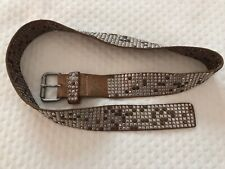 HTC Hollywood Trading Company, Leather Belt. Size 38 Very Rare