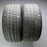 2x Pirelli P Zero AO 255/40 R20 101Y DOT 2818 Sommerreifen 4,5 - 5 mm