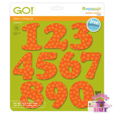 Accuquilt GO! Fabric Cutter Die Carefree Numbers Set Quilting Sewing 55099