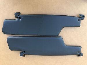 New pair black color Sun Visors Fits Porsche 914