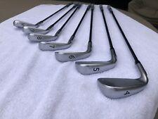 Ping i25 Iron Set. Black Dot. 4-PW. S Ping CFS Shaft. Golf Pride Grips.
