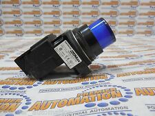 SIEMENS FURNAS 52BL4G5XB - PILOT LIGHT, NEMA4X, XFR 120V, LED, BLUE, PLASTIC