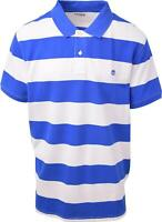 Timberland Men's Blue & White Striped S/S Polo Shirt (Retail $55) S08