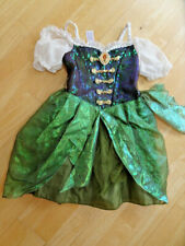 DISNEY STORE girls tinker bell the pirate fairy dress up costume outfit AGE 5 -