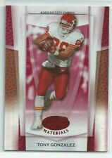 2007 Leaf Certified Materials Mirror Red #142 Tony Gonzalez /100