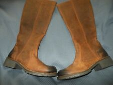 New Clarks Ladies Orinoco Tan Warmlined Leather Knee High Boots Fits size 5 1/2E
