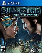PLAYSTATION 4 BULLETSTORM FULL CLIP EDITION BRAND NEW VIDEO GAME