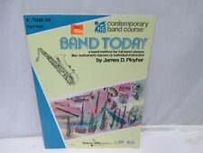 Band Today Contemporary Band Course Bb Tenor Sax Part Two Cbc117 Softcover Book