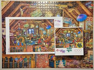 Buffalo Games Puzzle Aimee Stewart Collection Grandma's Attic 1000 Pieces