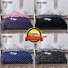 Fleece Blanket Large Sofa Throw Light Weight Sensory Sleep Therapy Anxiety FREE
