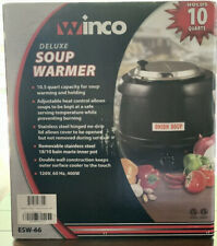 Winco Deluxe Soup Warmer 105 Qt New In Factory Sealed Box