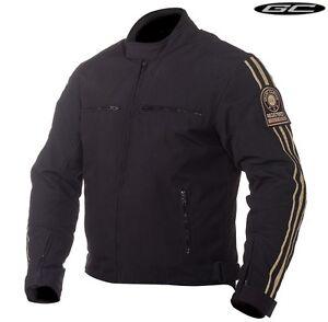 Grand Canyon OHIO schwarz creme  Gr. XXL  Motorrad Textil Jacke