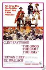 The good the bad and the ugly#15 movie poster print