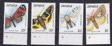 Jamaica 1989 Farfalle 1 serie 743-46 MHN