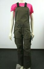 Womens The North Face Fuse Brigandine Gore Tex Shell Ski Bibs Pants - Olive Fuse
