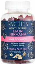 Pacifica Hair Nirvana Beauty Gummies | Cherry Flavor | 60 Ct. | Exp: 10/2021