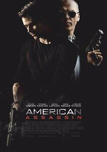 American Assassin Film Poster 3 A4 & A3