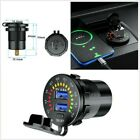 5V 4.8A DUAL USB CAR FAST CHARGING CHARGER SOCKET/ WITH LED- VOLTMETER DISPLAY