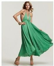 Alice+Olivia keyhole green maxi dress Kelly Rutherford (Gossiip girl)