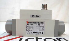 Used SMC Flow Switch for Air, Flowrate 10-10 L/min, PF2A551-03-1