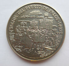 Kupfer Nickel Peso 1990 Entdeckung von Amerika