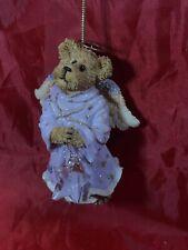 """Boyds Bears ornament """"Sparkle Starlight"""" #257059 angel bear 2004 Christmas"""