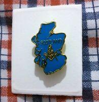 Masonic Badge Scottish Freemasons. High Quality Pin. Scotland
