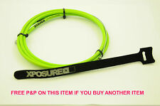 GREEN XPOSURE BMX BRAKE LINEAR CABLE STAINLESS STEEL TEFLON COATED 50% OFF RRP
