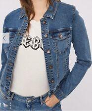 b20e113fb33a Vero Moda Womens UK Size 10 Blue Denim Jacket (regular)