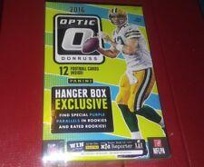 2016 PANINI Donruss Optic Football Hanger Box Pack ? Wentz Prescott  RCs Autos ?