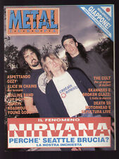 METAL SHOCK EUROPA 115/1992 NIRVANA SEATTLE SOUND COBAIN PEARL JAM HENRY ROLLINS