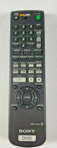 Genuine Sony RMT-D129A DVD/TV Remote Control - Free Shipping