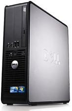 WiFi enabled Windows 10 Dell Optiplex Desktop PC, Dual Core, 4GB Ram, 160GB