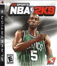 PS3 2K Sports NBA 2K9 Video Game Full 1080p HD Multiplayer BasketBall SuperStars