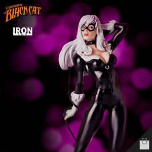 Black Cat Statue Iron Studios Figure 1:10 Scale Marvel Spiderman Limited Edition