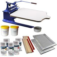 One Color Silk Screening Screen Printing Removable Pallet Starter DIY Hobby Kit