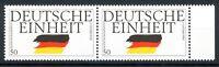 Bund MiNr. 1477 I Bogenrand postfrisch/ MNH Plattenfehler im waag. Paar (Z5138