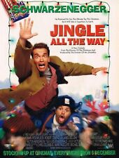 Jingle All The Way 1996 Original Movie Magazine Film Ad Advert Schwarzenegger