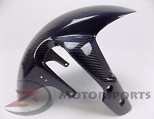 2006-2010 GSXR600 GSXR750 Front Tire Fender Wheel Fairing Cowl Carbon Fiber Blue