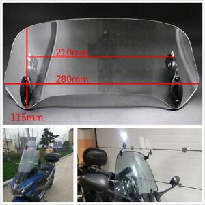 Motorcycle Windscreen Spoiler Air Deflector For Honda BMW Yamaha Kawasaki Suzuki