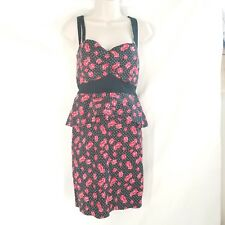 HOT TOPIC Vintage 50s Style Dress Size XL Diner Pinup Girl Rockabilly Swing DICE