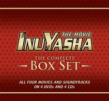 Inuyasha Complete Movies Box Set Collection Films DVD Anime Animated Show Series