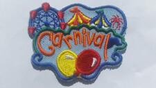 Boy Girl Cub CARNIVAL Fun Patches Crests Badges SCOUT GUIDE Outdoor game school