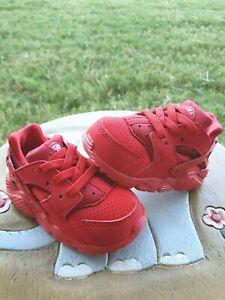 """Nike Huarache Run """"RED"""" BRAND NEW Toddler 4C"""