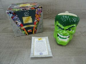 Vintage Marvel Comics Limited The Incredible Hulk Mug 1997 Boxed Authentic