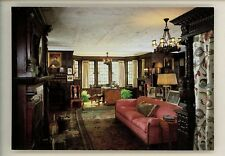 Interiors postcard Akron Ohio OH Stan Hywet Hall and Gardens Master Bedroom