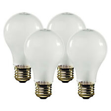 48 Incandescent Light Bulb Bulbs A19 Soft White 40 Watts 40W Fast Free to Ship