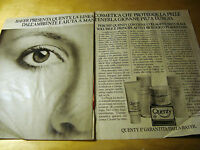 PUBBLICITA' ADVERTISING WERBUNG 1980 QUENTY LINEA COSMETICA BAYER (G12)