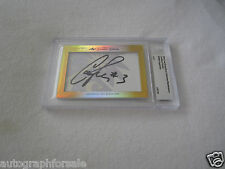 Candace Parker 2014 Leaf Masterpiece Cut Signature auto signed autograph 1/1 JSA